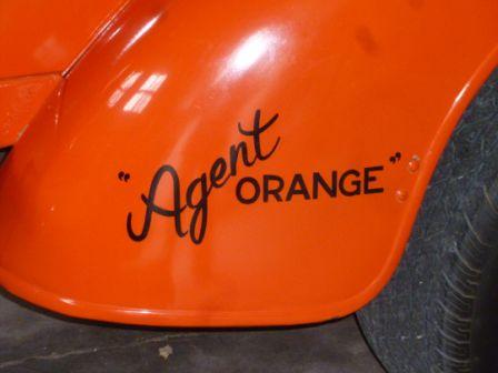 Eddie's truck - Agent Orange